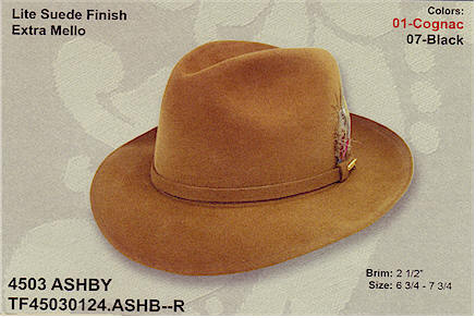 Ashby by Stetson Dress hats