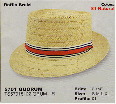 Quorum by Stetson Hats