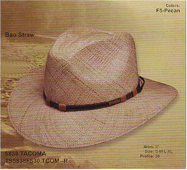 Tacoma by Stetson hats