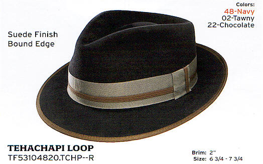Tehachapi Loop by Stetson hats