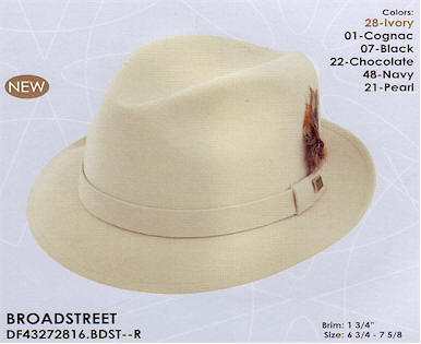 0be17acfbe2e4 Broadstreet by Dobbs hats