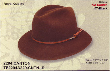 Canton by Stetson hats