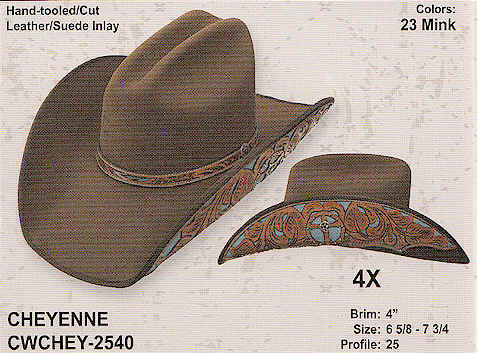 9502ace362d13 Cheyenne by Charlie 1 Horse Hats