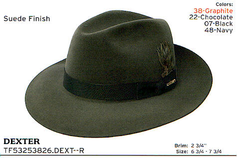 31a64e80fb5ef Dexter Fedora by Stetson hats - Finest dress hat anywhere.