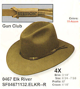 Elk by Stetson hats