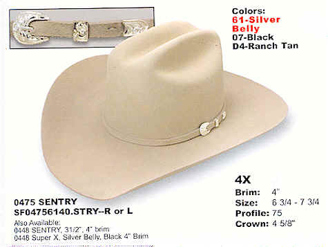 a6514fac322917 Western hats by Stetson hats - Western wear.