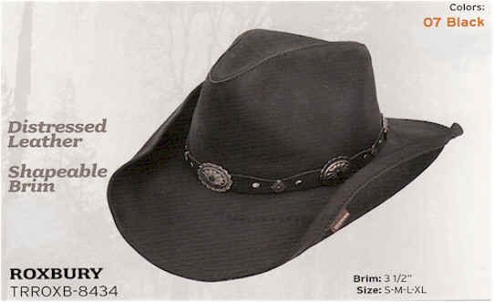 Black Roxbury by Stetson Hats