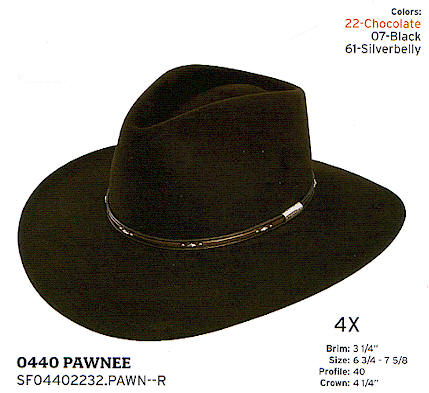Pawnee by Stetson hats 8309cac3992