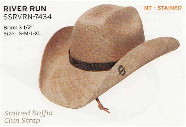 River Run by Stetson hats