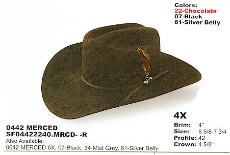 ac5e882a2 HATS - Cowboy Hats - Stetson hats for Sale