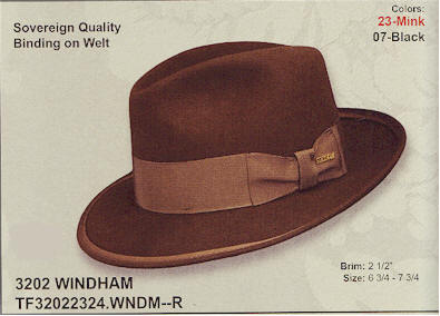 Windham by Stetson hats